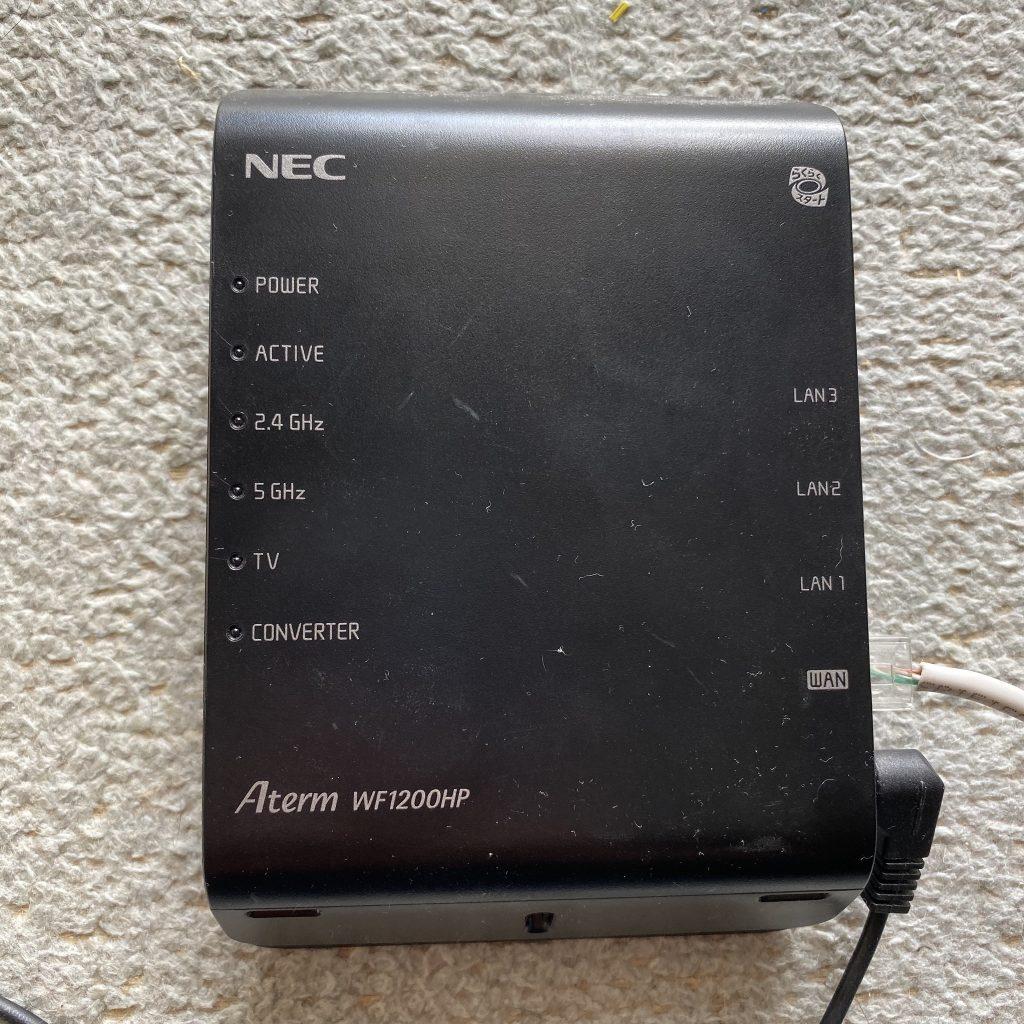 NEC Aterm WF1200HP